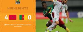 Maroko 4:0 Kamerun