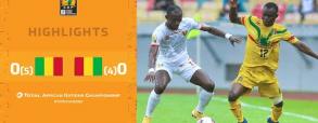 Mali 0:0 Gwinea