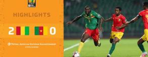 Gwinea 2:0 Kamerun