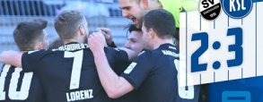 SV Sandhausen 2:3 Karlsruher