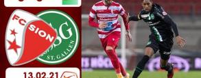 FC Sion 1:1 St. Gallen