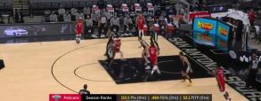 San Antonio Spurs 117:114 New Orleans Pelicans