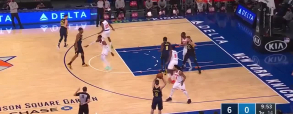 New York Knicks 110:107 Indiana Pacers