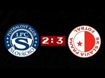 Slovacko 2:3 Slavia Praga