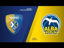 Chimki Moskwa 81:100 ALBA Berlin
