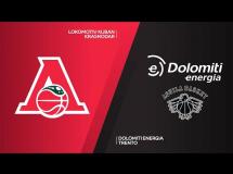 Lokomotiv Kubań 100:86 Trento