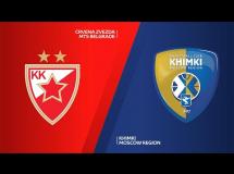 Crvena Zvezda 92:81 Chimki Moskwa