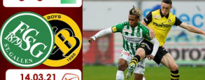 St. Gallen 2:2 Young Boys