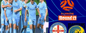 Melbourne City 2:0 Central Coast Mariners