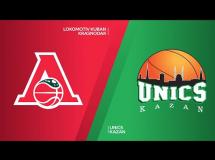 Lokomotiv Kubań 86:74 UNICS Kazań