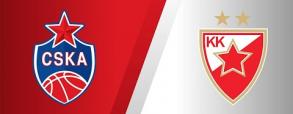 CSKA Moskwa 87:72 Crvena Zvezda