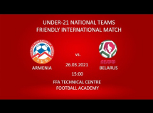 Armenia U21 1:1 Białoruś U21