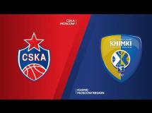 CSKA Moskwa 97:72 Chimki Moskwa