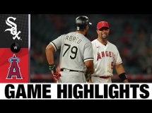 Los Angeles Angels 8:12 Chicago White Sox
