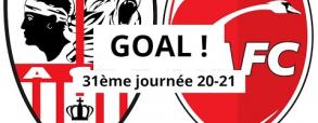 Ajaccio 3:0 Valenciennes