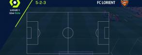 Lorient 1:0 Brest