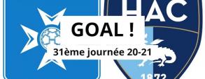 Auxerre 1:1 Le Havre