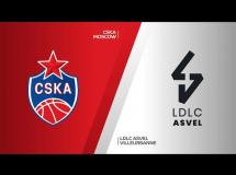 CSKA Moskwa 88:70 Lyon-Villeurbanne