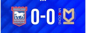 Ipswich Town 0:0 Milton Keynes