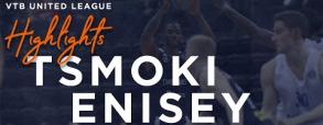 Tsmoki-Minsk 74:81 Enisey Krasnoyarsk