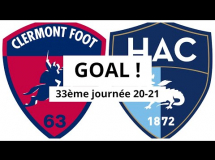 Clermont Foot 1:1 Le Havre