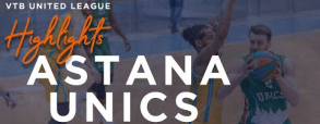 Astana 74:87 UNICS Kazań