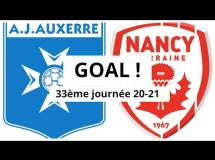 Auxerre 0:1 Nancy