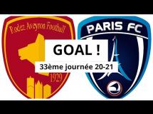 Rodez 1:0 Paris FC