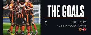 Hull City 2:1 Fleetwood Town