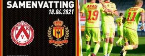 KV Kortrijk 1:4 KV Mechelen