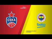 CSKA Moskwa 78:67 Fenerbahce