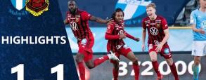 Malmo FF 1:1 Östersunds FK