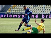 MSK Zilina 2:5 Slovan Bratysława
