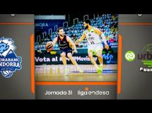 MoraBanc Andorra 85:71 Baloncesto Fuenlabrada