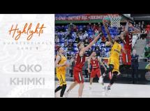 Lokomotiv Kubań 89:80 Chimki Moskwa