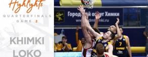 Chimki Moskwa 85:92 Lokomotiv Kubań