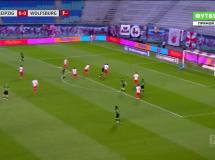 RB Lipsk 2:2 VfL Wolfsburg