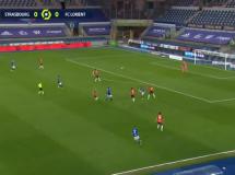 Strasbourg 1:1 Lorient