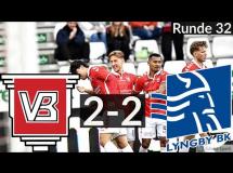Vejle 2:2 Lyngby Boldklub