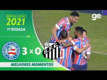 Bahia 3:0 Santos