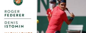Roger Federer - Denis Istomin