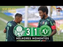 Palmeiras 3:1 Chapecoense