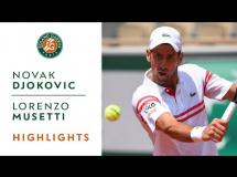 Novak Djoković - Lorenzo Musetti