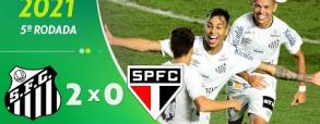 Santos 2:0 Sao Paulo
