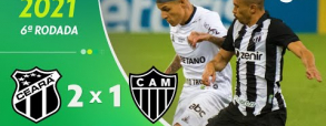 Ceara 2:1 Atletico Mineiro