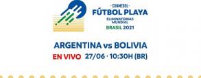 Argentyna 1:4 Boliwia
