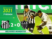 Santos 2:0 Atletico Mineiro