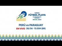 Peru 3:3 Paragwaj