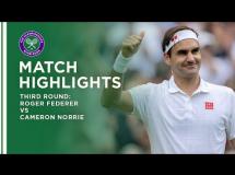 Roger Federer 3:1 Cameron Norrie