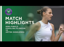 Karolina Pliskova - Aryna Sabalenka